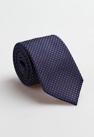 Corbata Lunares Azul Marino...